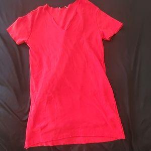Zara Short Sleeve Jersey Knit Dress